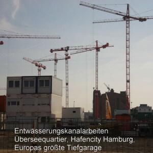 Entwässerung Hafencity Hamburg