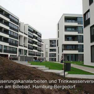 Entwässerung und Trinkwasserversorgung, Hamburgb-Bergedorf